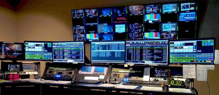 Tv Master Control Room