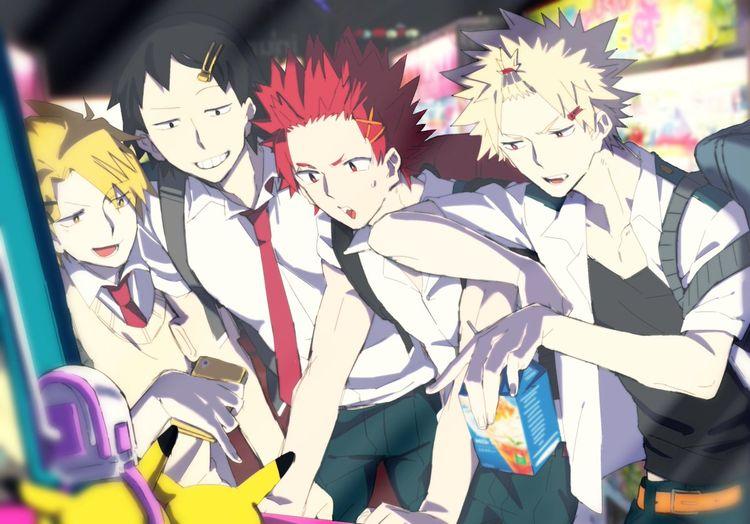 Top Five Kaminari X Reader X Sero - Circus