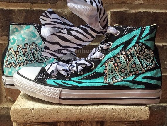 Customized Converse Kids Custom Converse crystallized kicks 9721a675d7e8