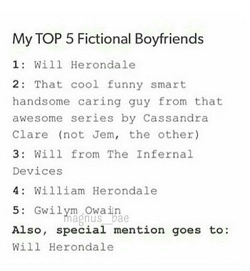 will herondale and the infernal devices image