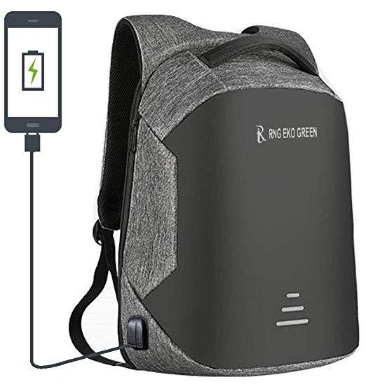 5df22b2770b6 RNG EKO GREEN 30 Litre Anti Theft Travel Laptop Backpack (1