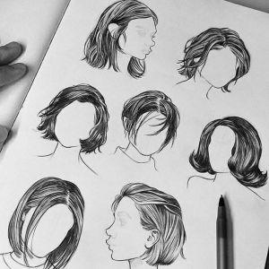 Como desenhar cabelos realistas a lápis