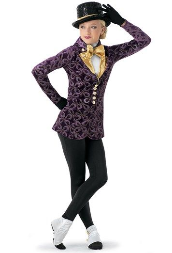 718f1e4c1 Weissman® | Willy Wonka Character Jacket & Unitard