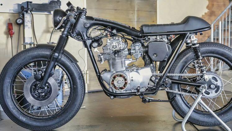 Motorrad Restauration vom Profi