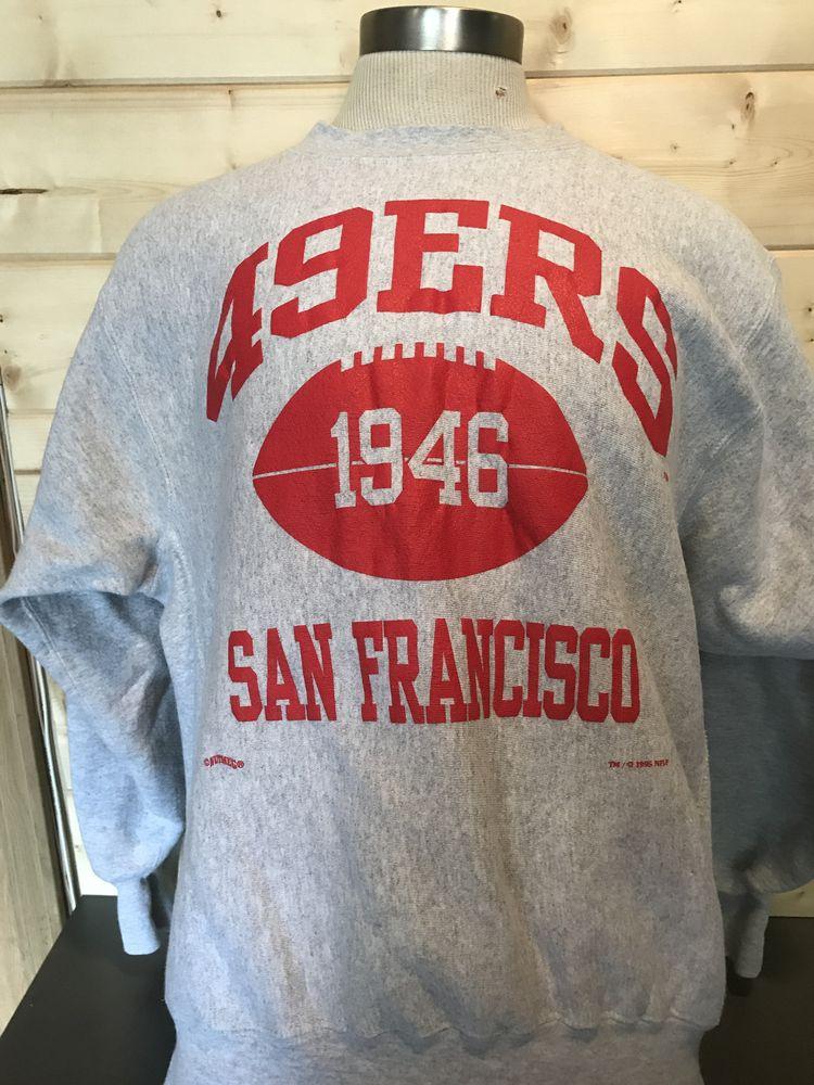abacdc83114 Vintage 1994 San Francisco 49ers 50 50 Sweatshirt T-Shirt