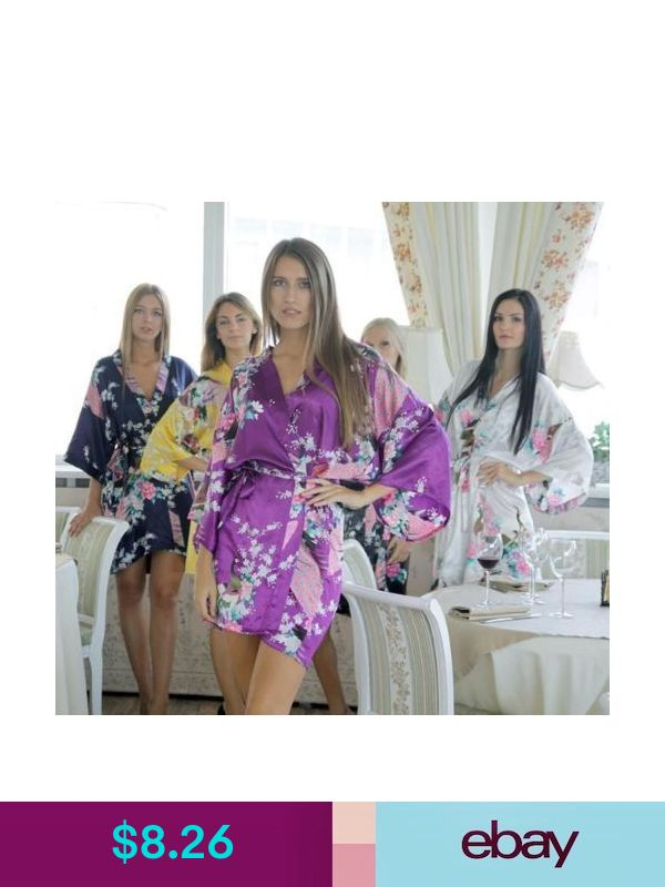 d0df8985b3 Handmade Loungewear Robes   Bathrobes  ebay  Clothing
