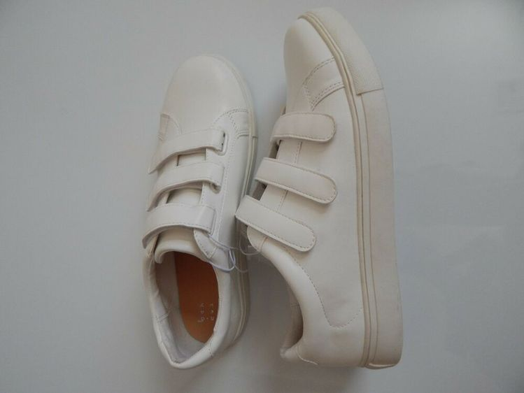 8809536c Triple Strap color whiter Shoes Sneakers Women's Size 9 A New Day #fashion # clothing #shoes #accessories #womensshoes #athleticshoes (ebay link)