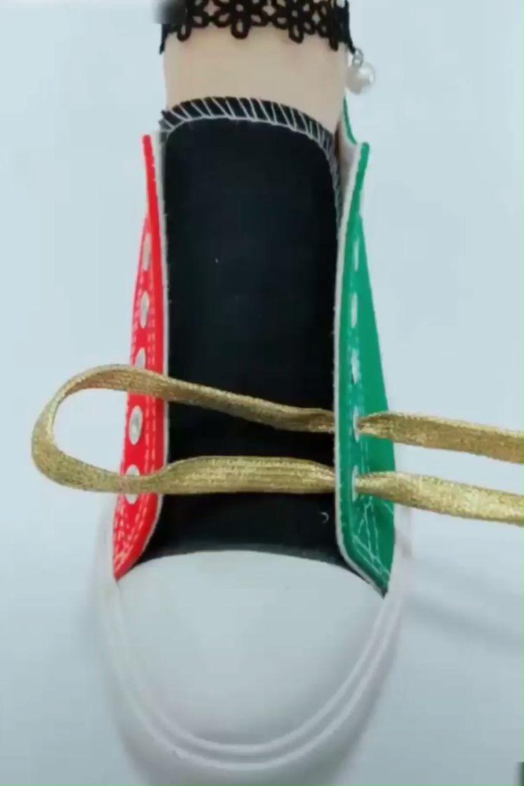 DIY Unique & Beautiful Shoelace Tying Guide! 😍
