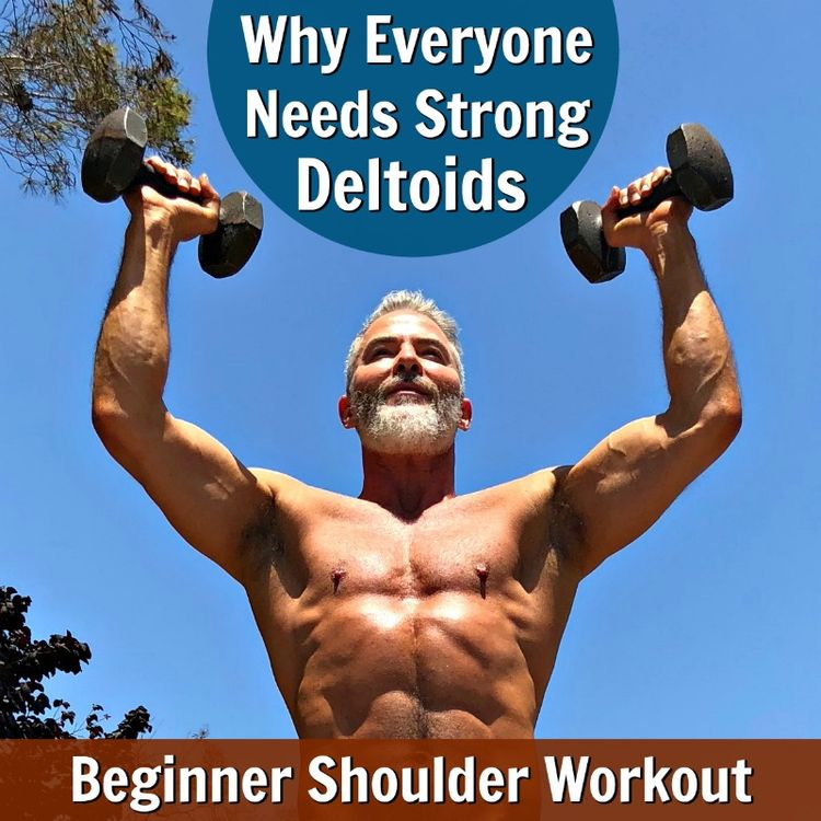 Everyone needs strong deltoids to help maintain a tapered waist and aligned posture. These 12 exercises provide a beginner shoulder workout that will sculpt and define your own shoulder muscles.