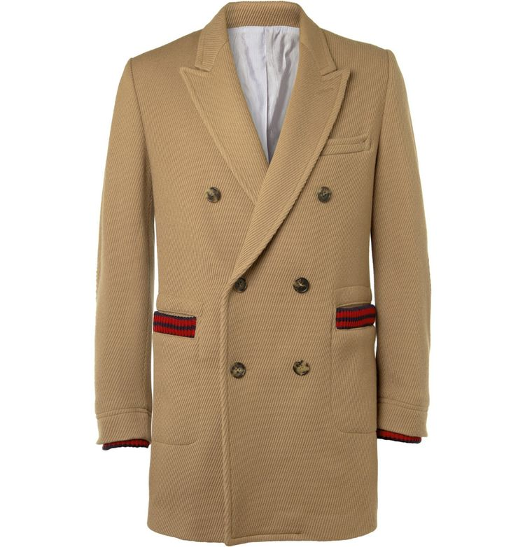 128c84e3 Band of Outsiders Double-Breasted Wool-Blend Corduroy Coat | MR PORTER