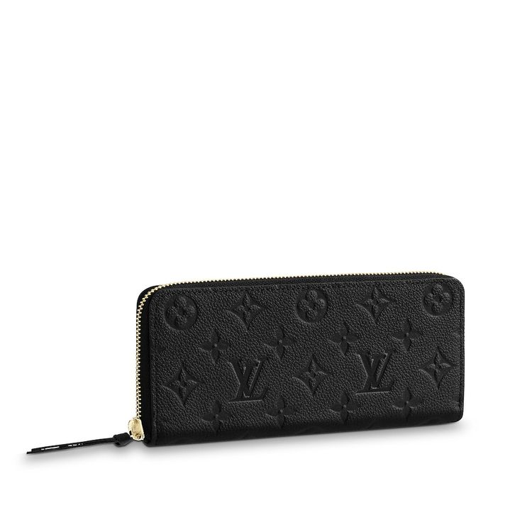 35f0cb139049 View 1 - Monogram Empreinte Leather SMALL LEATHER GOODS Small Leather Goods  Clémence Wallet
