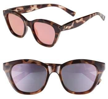 26e0ee7e9d6fa Le Specs Wannabae 49mm Angular Sunglasses