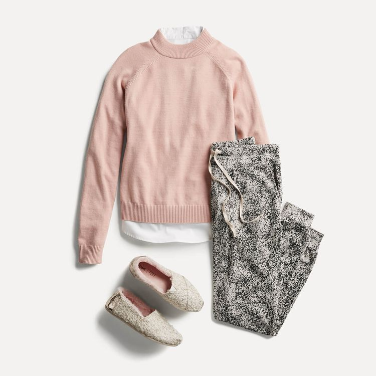 Looks comfortable and adorable. What to Wear for NYE If You're Going Out or Staying In | Stitch Fix Style