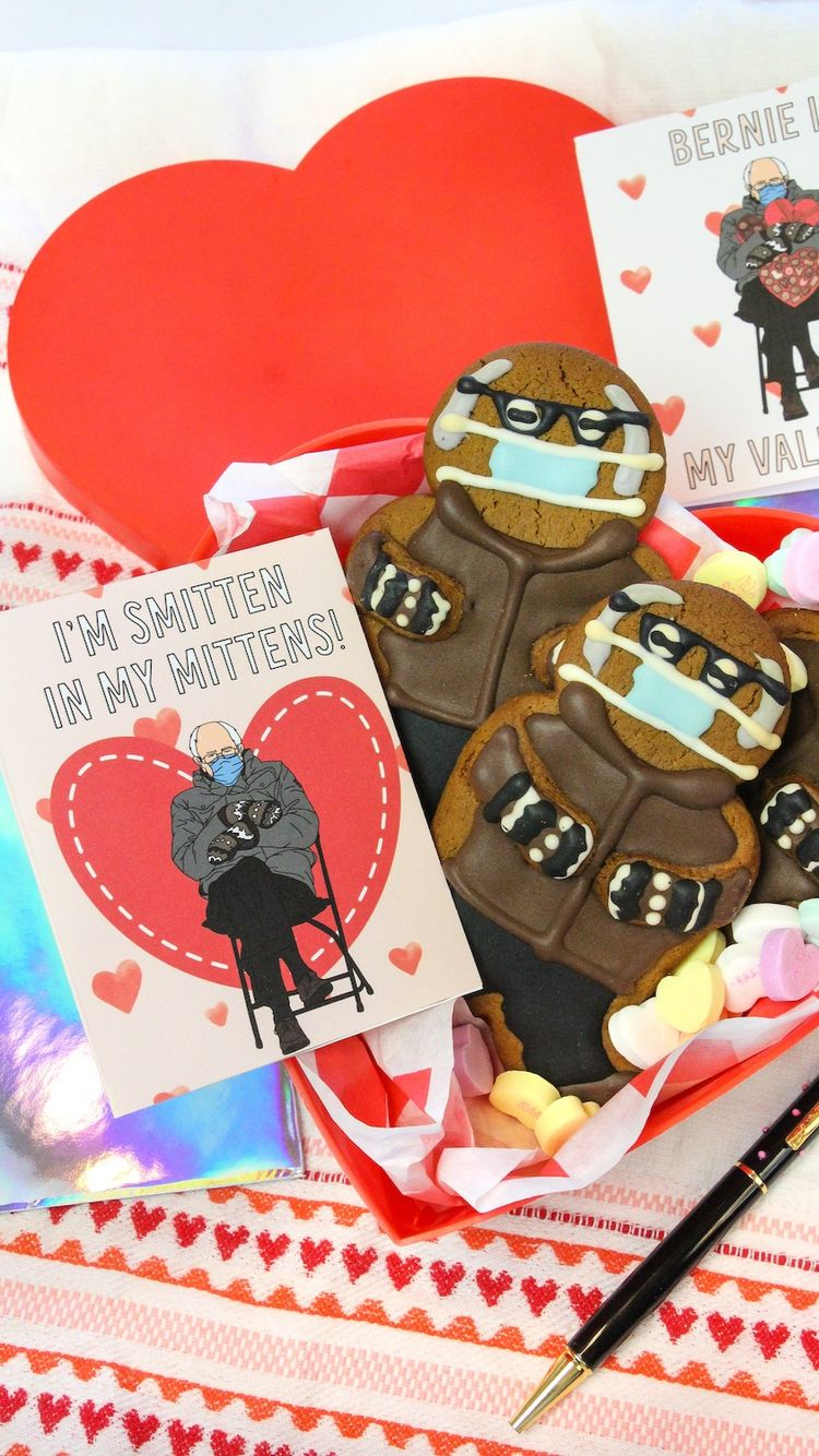 Free Printable Bernie Sanders Mittens Meme Valentines An Immersive Guide By Vanessa Diaz Brite Bubbly