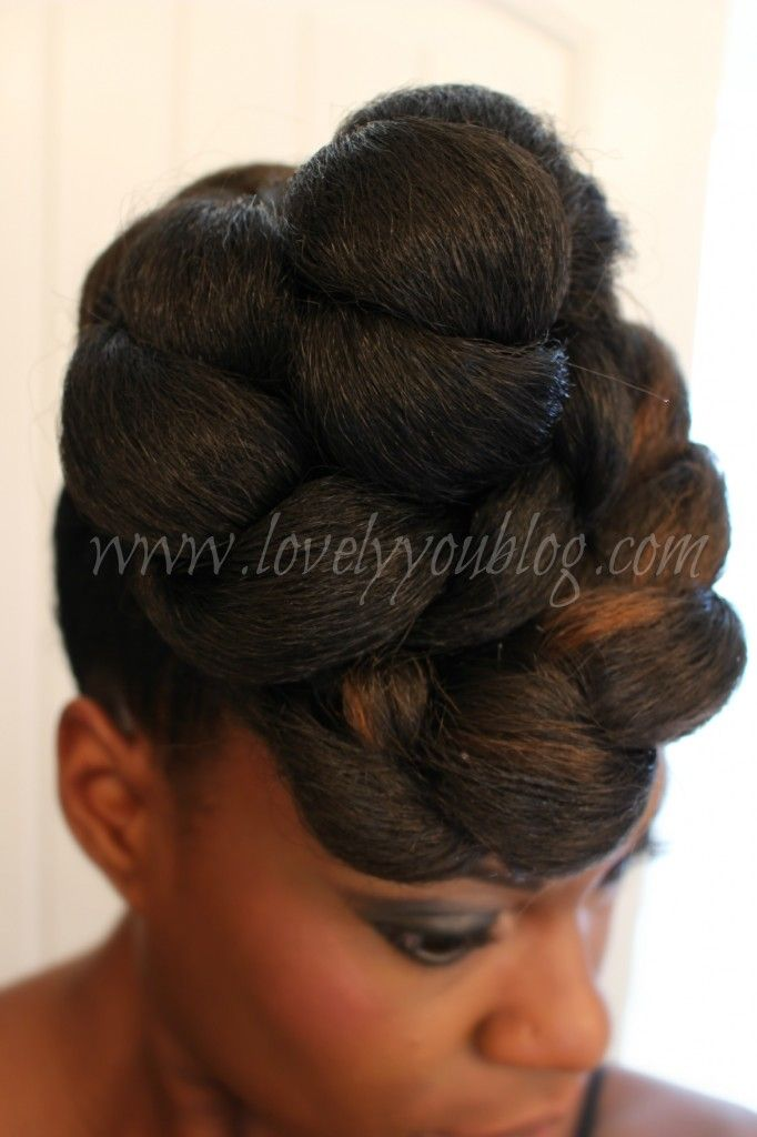 easy protective styles for transitioning hair protective style for hair the high bun 4310 | a34565d816954c7dc092f915adb26baf