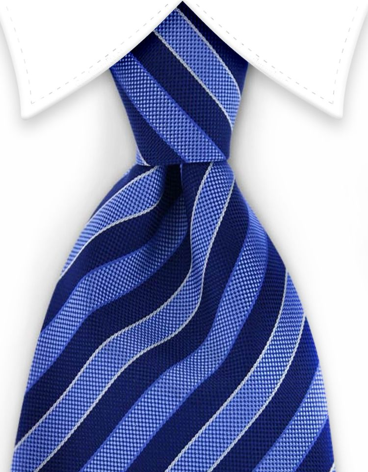d83d91e3281c Multi-Blue Striped Tie