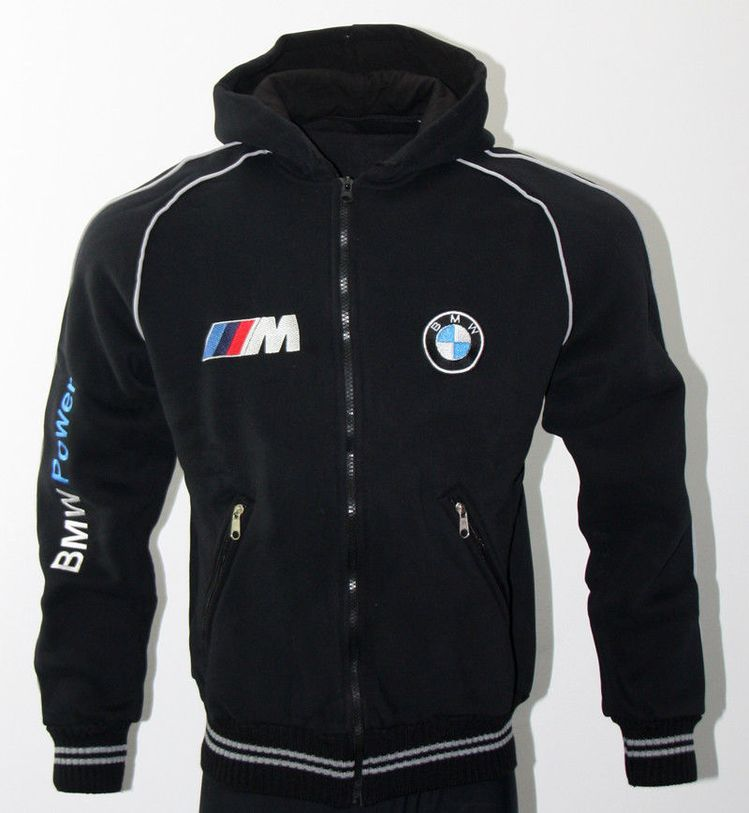 Details About Bmw M Power Fleece Polar Jacket Embroidere
