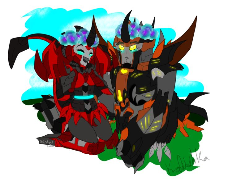 totally ship them, Shockburner x Predaking