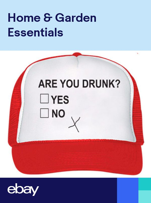 ab72fadf66b7e Are you Drunk Trucker Hat Party Beer Wine Drinking Alcohol Funny Sissy Cap  NEW