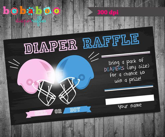 Football Themed Gender Reveal Party