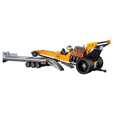 b7df77807a5 Lego City Great Vehicles Dragster Transporter 60151