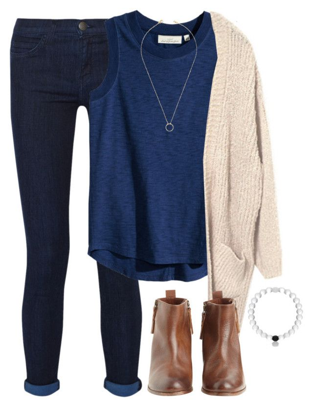 """""""we'll be alright..."""" by morganburleigh ❤ liked on Polyvore featuring Current/Elliott, H&M, Hoss Intropia, Jeweliq, women's clothing, women, female, woman, misses and juniors"""