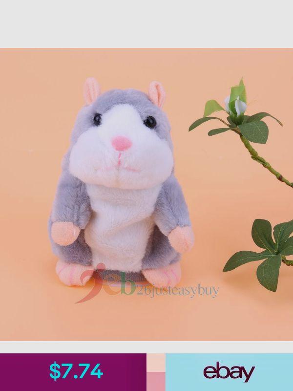 Cute Talking Hamster Mimicry Pet Plush Toys Baby Toys Kids