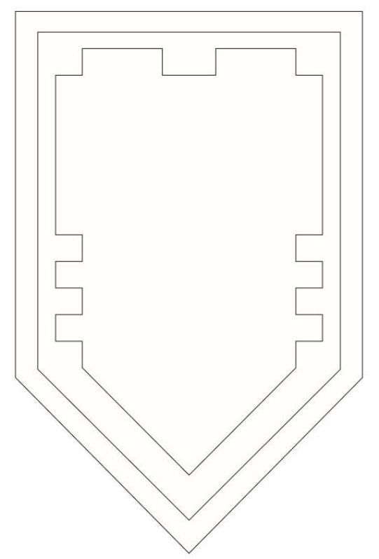 Coloring Page Lego Nexo Knights Your Shield