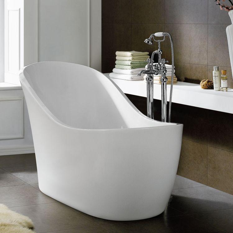 Image of: Bathroom Ideas White Freestanding Bath Tubs For