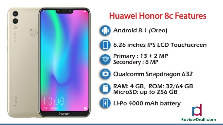 Huawei Honor 8c Price in Bangladesh, Full Specification
