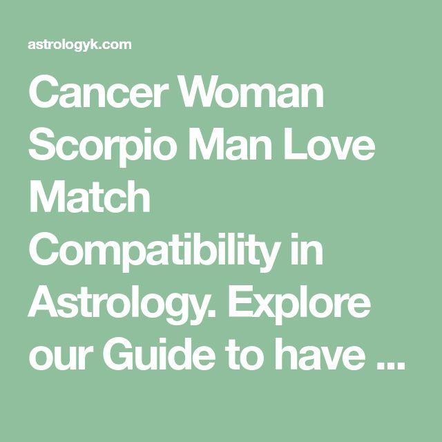 Cancer Woman Scorpio Man Love Match Compatibility in Astrol