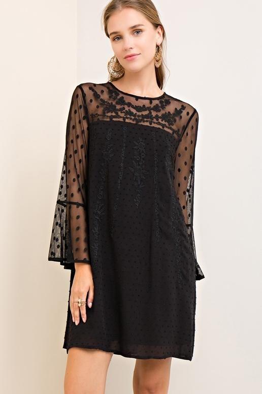 3c748480ad7 Entro Bonita Babe Dress - Black