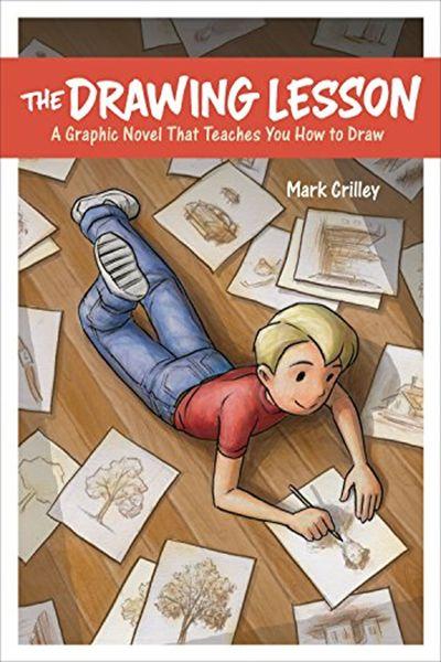 A lição de desenho: um romance gráfico que ensina a desenhar - Mark Crilley