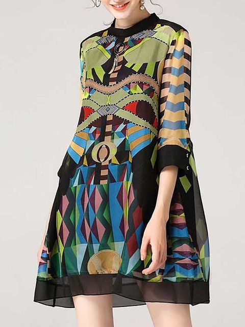 76e4d2270f42 Buy Midi Dresses For Women from A-THENA at StyleWe. Online Shopping Stand  Collar