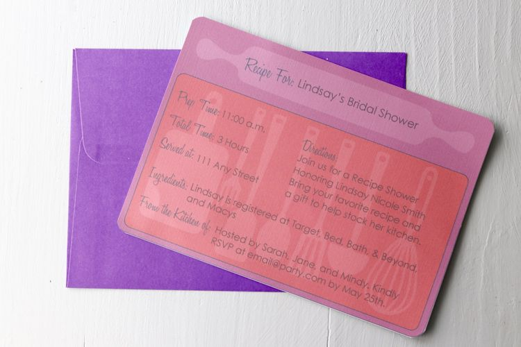 non traditional bridal showers 6 new invitation ideas