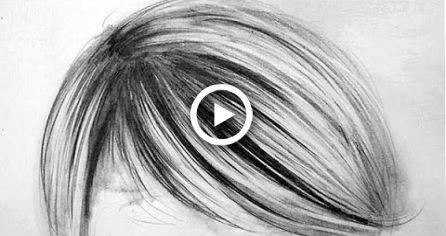 Como desenhar cabelo realista - 3 etapas fáceis