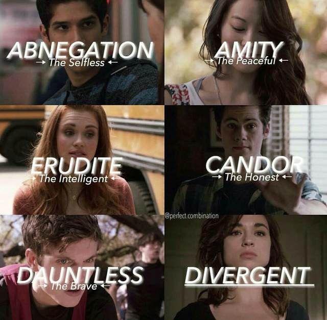 Teen Wolf + Divergent
