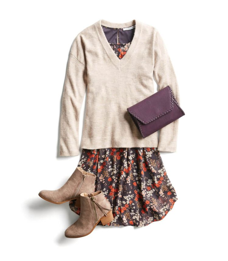 I love everything about this... not sure how to wear dresses in the cold Northeast Fall/Winter but the colors and overall feel are on point!