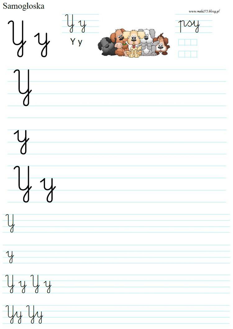 Literka Y Blog Edukacyjny Dla Dzieci