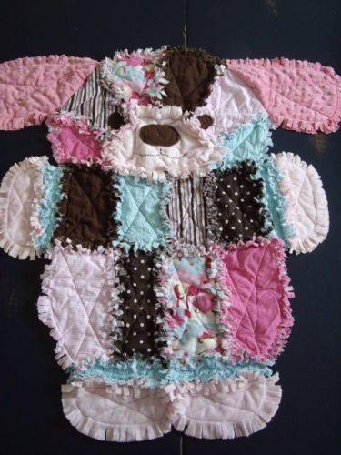 Gorgeous Puppy Dog Rag Quilt Pattern