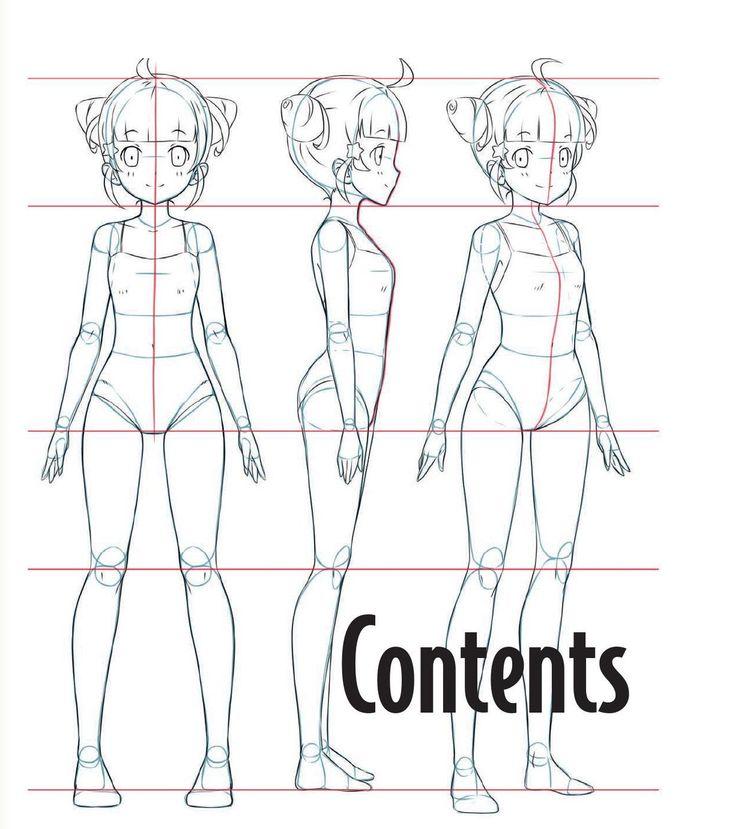 O guia mestre para desenhar anime: como desenhar personagens originais de modelos simples