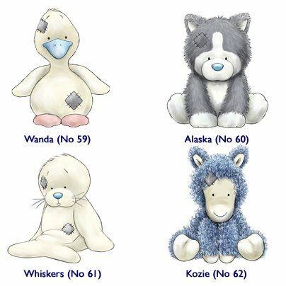 380 Blue Nose Friends Ideas Blue Nose Friends Tatty Teddy Cartoon Animals