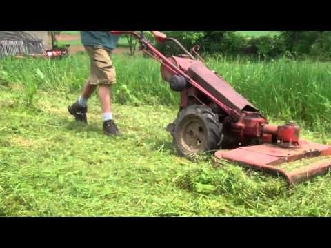 Gravely 5260 with Sicklebar Mower  - YouTube