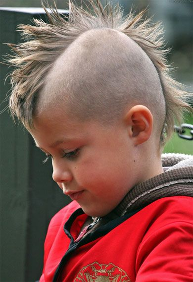 Kids Mohawk Hairstyle Childrens Long Layered Hairstyles