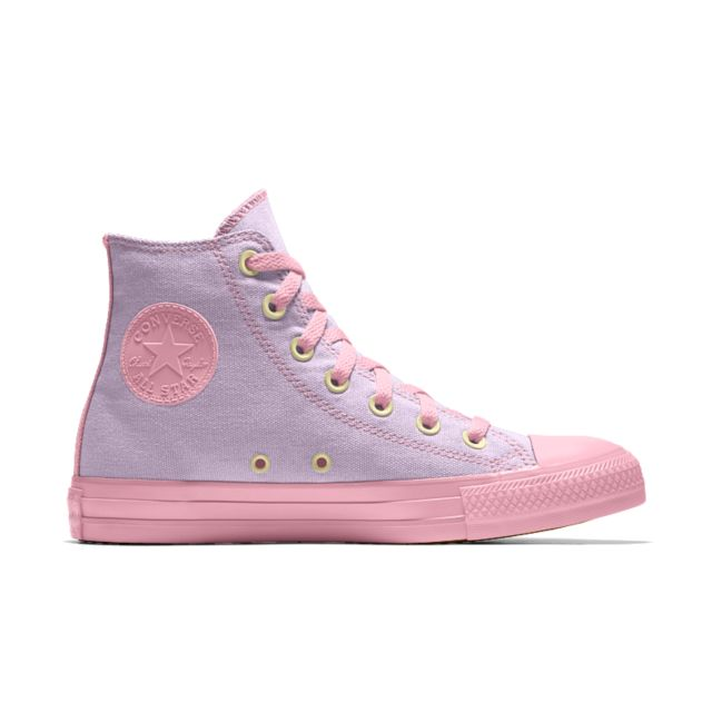 7dc2a77a9c86 Converse Custom Chuck Taylor All Star Rose Embroidery High Top Shoe.  Nike.com