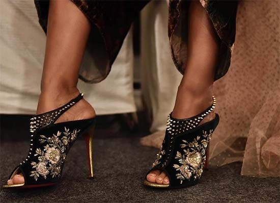 8aba0a650e1c The Stunning Louboutin x Sabyasachi Collection Is Here