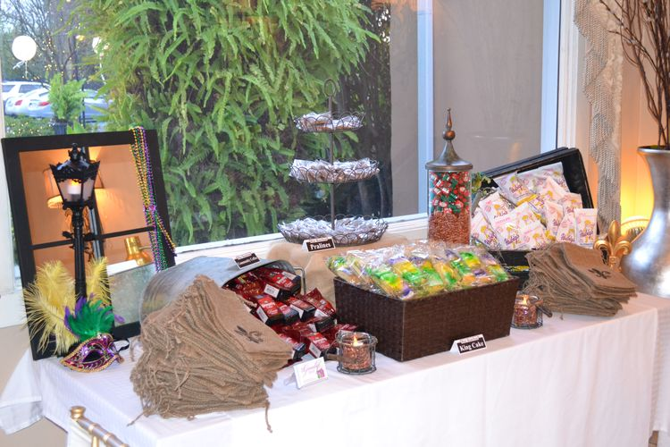 New Orleans Themed Wedding Favor Buffet By Me Thegoody