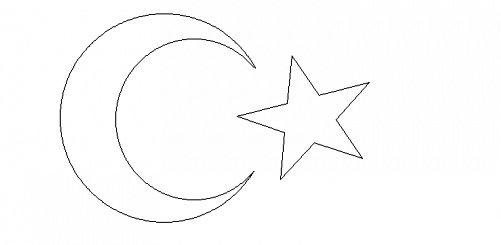 Bayrak Bayrakboyama Türkbayrağı Boyamasayfaları