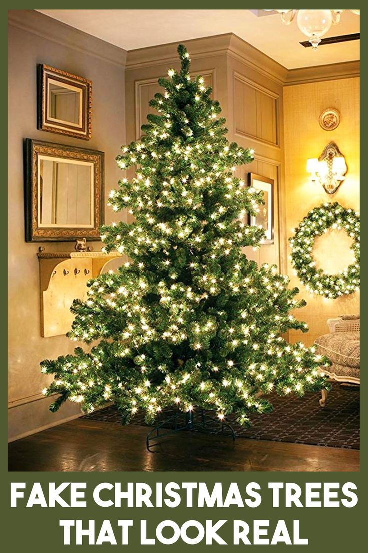 Fake Christmas Trees That Look Real Beat Realistic Looking Artificial Christmas Trees