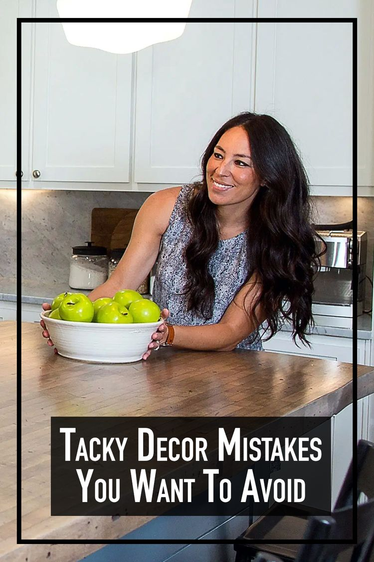 Tacky Decor Mistakes You Want To Avoid